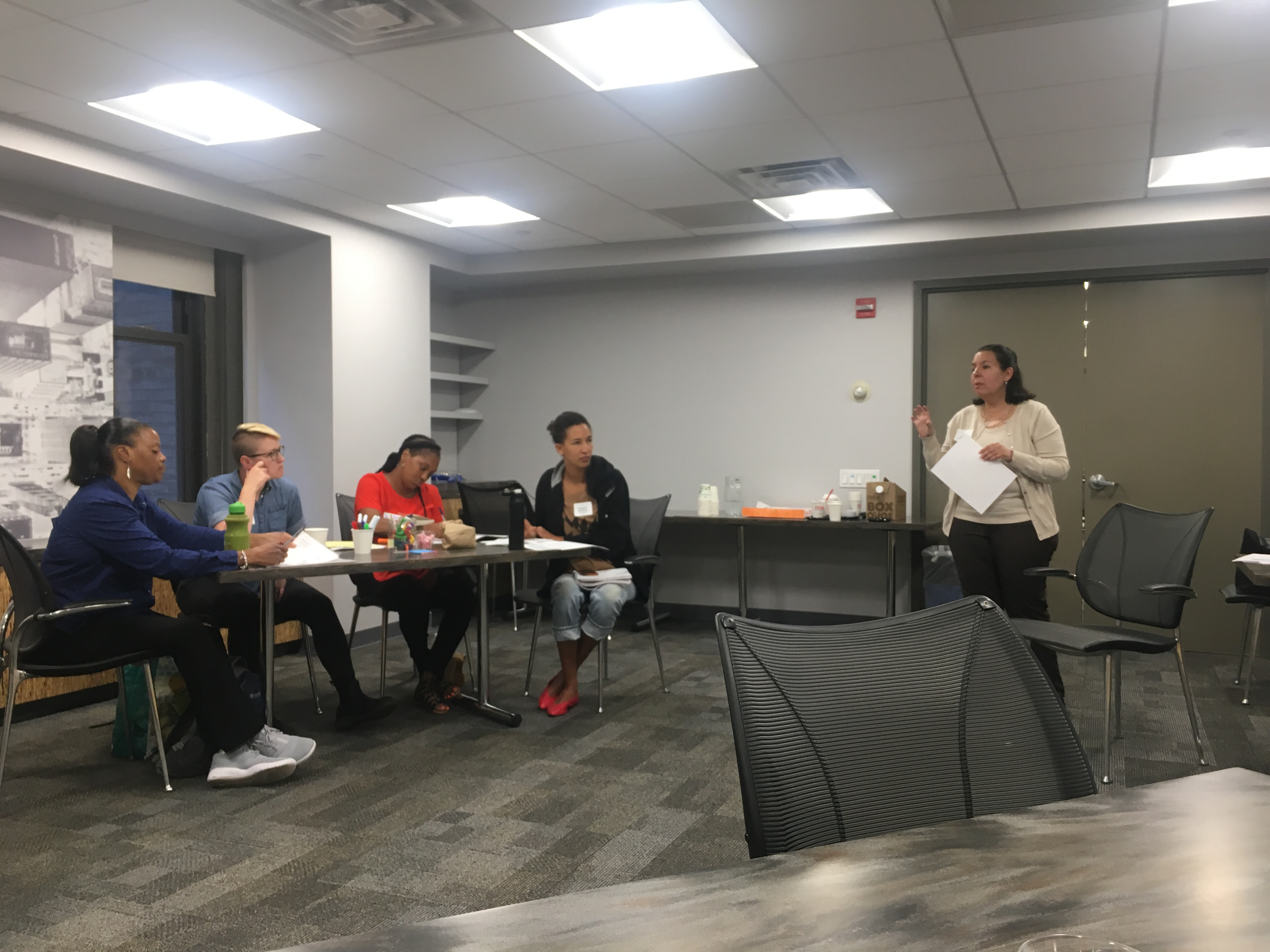 WPTI Hosts Training on Immigrants' Rights in the World of Work
