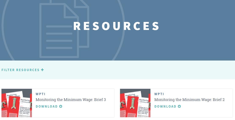 New Hub Resources, June 2018